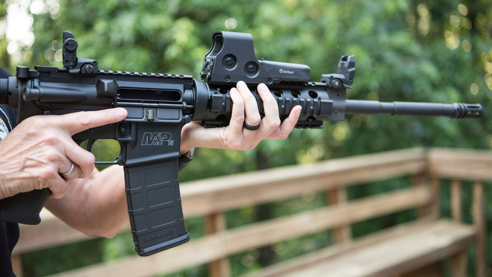 Man Arrested For Instagram Post of AR-15 Captioned 'Thinking About Finally Going Back to School'