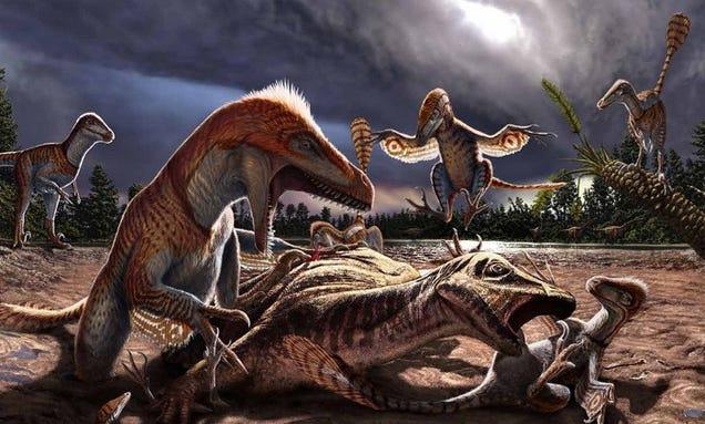 "Discovery Of Dinosaur ""Death Trap"" Suggests Utahraptors Hunted In Packs"