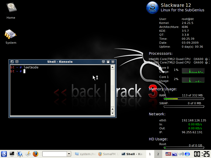 Illustration for article titled BackTrack is a Security-Focused Live CD Packed With System Tools