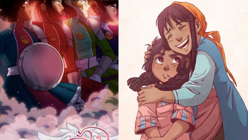 Illustration for article titled Agents Of The Realm, M.F.K., and the ascent of black women in webcomics