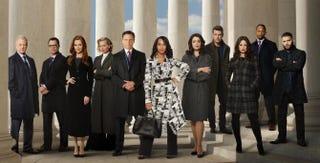 The cast of ScandalCraig Sjodin and Lori Epstein/ABC