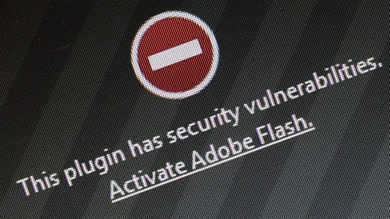 Illustration for article titled Adobe Flash Is More Dangerous Than Ever