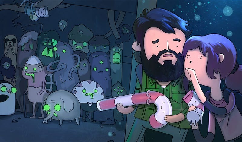 Illustration for article titled The Last Of Us Finds Its Way Into Adventure Time's Candy Kingdom
