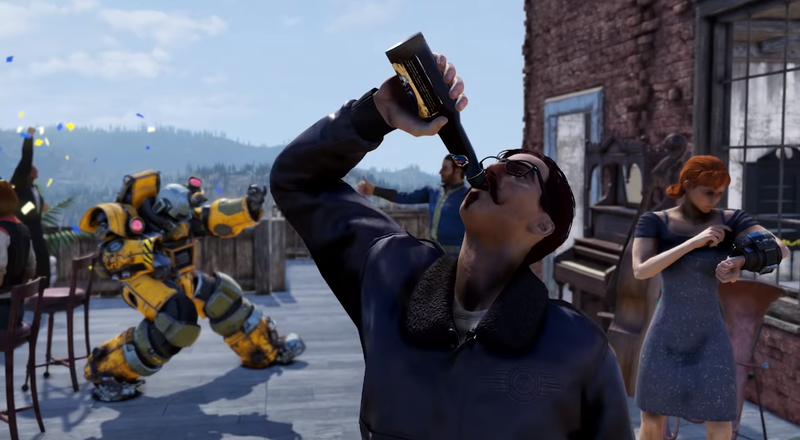 Illustration for article titled Fallout 76's New Booze Questline Offers A Fun Reason To Return
