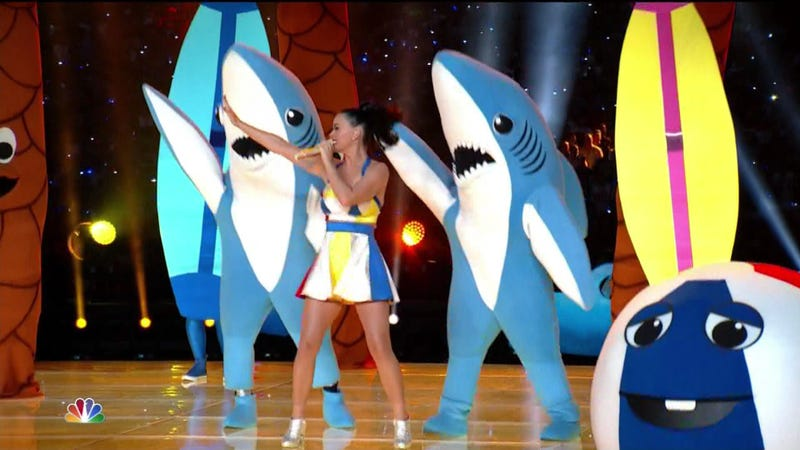 Illustration for article titled We'll Never Forget You, Katy Perry With Nazi Sharks