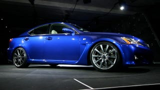 Illustration for article titled Detroit Auto Show: Lexus IS-F In the Flesh