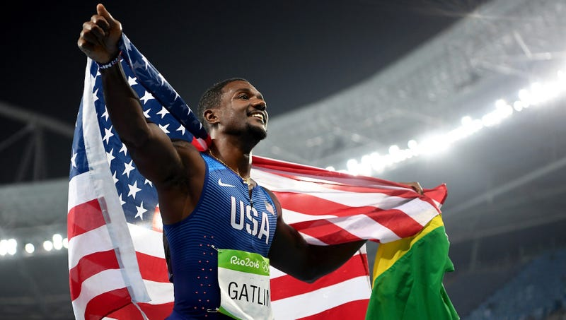Shocked Gatlin sacks coach after doping claim