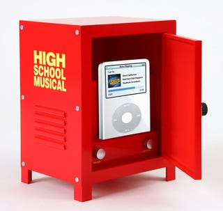 Illustration for article titled High School Musical iPod Clock/Radio and LCD TV Make You Jealous of Little Kids