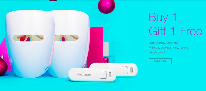 BOGO Light Therapy Acne Mask   Neutrogena