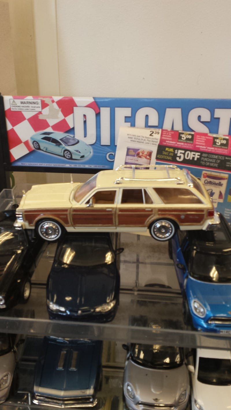 Illustration for article titled Why is this store selling a diecast LeBaron?