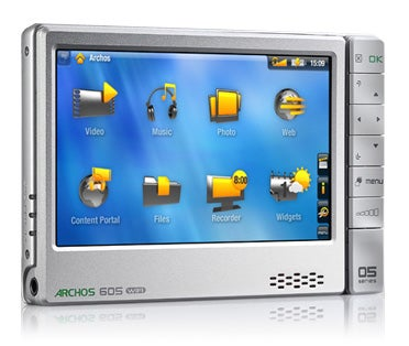 archos 605 wifi downloads movies over the web rh gizmodo com Archos 605 Battery Archos 605 Battery