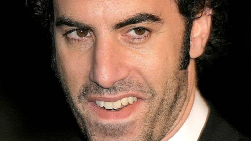 Illustration for article titled Sacha Baron Cohen is now looking at lesbians