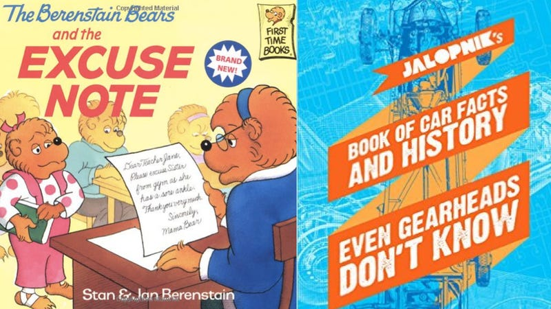 Illustration for article titled Why Buy The Berenstain Bears When You Could Buy The Jalopnik eBook?