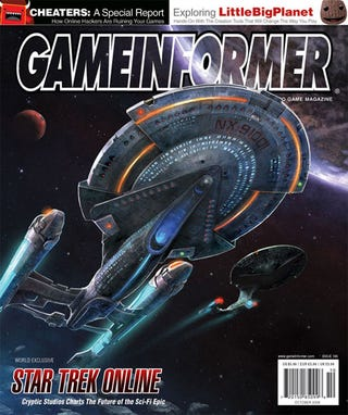 Illustration for article titled Star Trek Online Revealed! Um, In New Game Informer