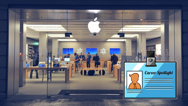 Illustration for article titled Career Spotlight: What It's Like to Work at an Apple Store