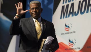 Illustration for article titled Ex-Congressman Allen West Thought He Got Sharia Law-ed at a Walmart