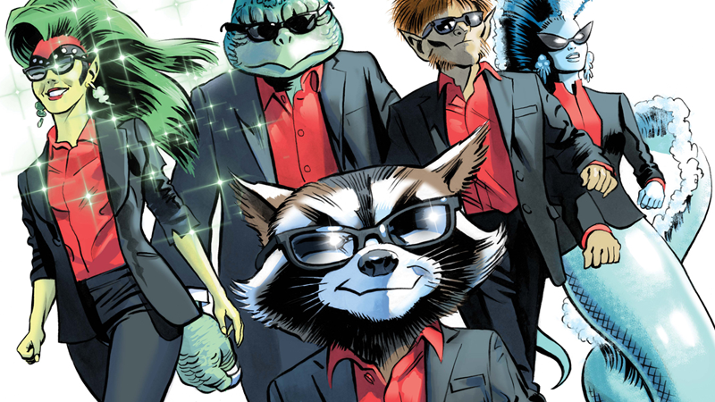 Illustration for article titled Rocket Raccoon's New Comic Series Is a Scifi Heist Caper