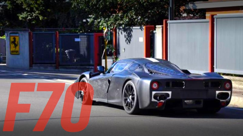 Illustration for article titled This Is Probably Ferrari's New Enzo
