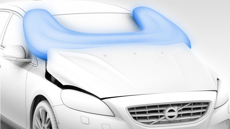 Illustration for article titled Does Volvo Risk Sleek Styling If They Dump The Pedestrian Airbag?