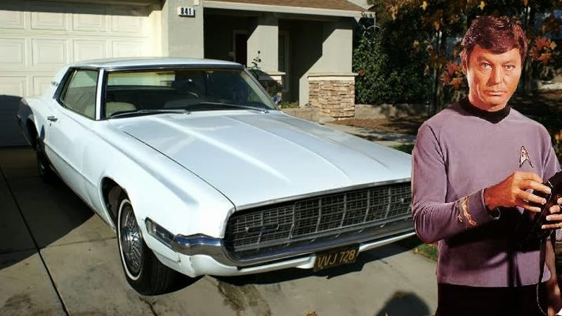 This 1968 Thunderbird Owned By DeForest Kelley Is The Real ...