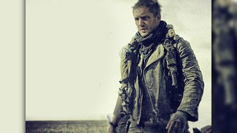 Illustration for article titled Awooooooga! Here's the First Shot of Tom Hardy as Mad Max