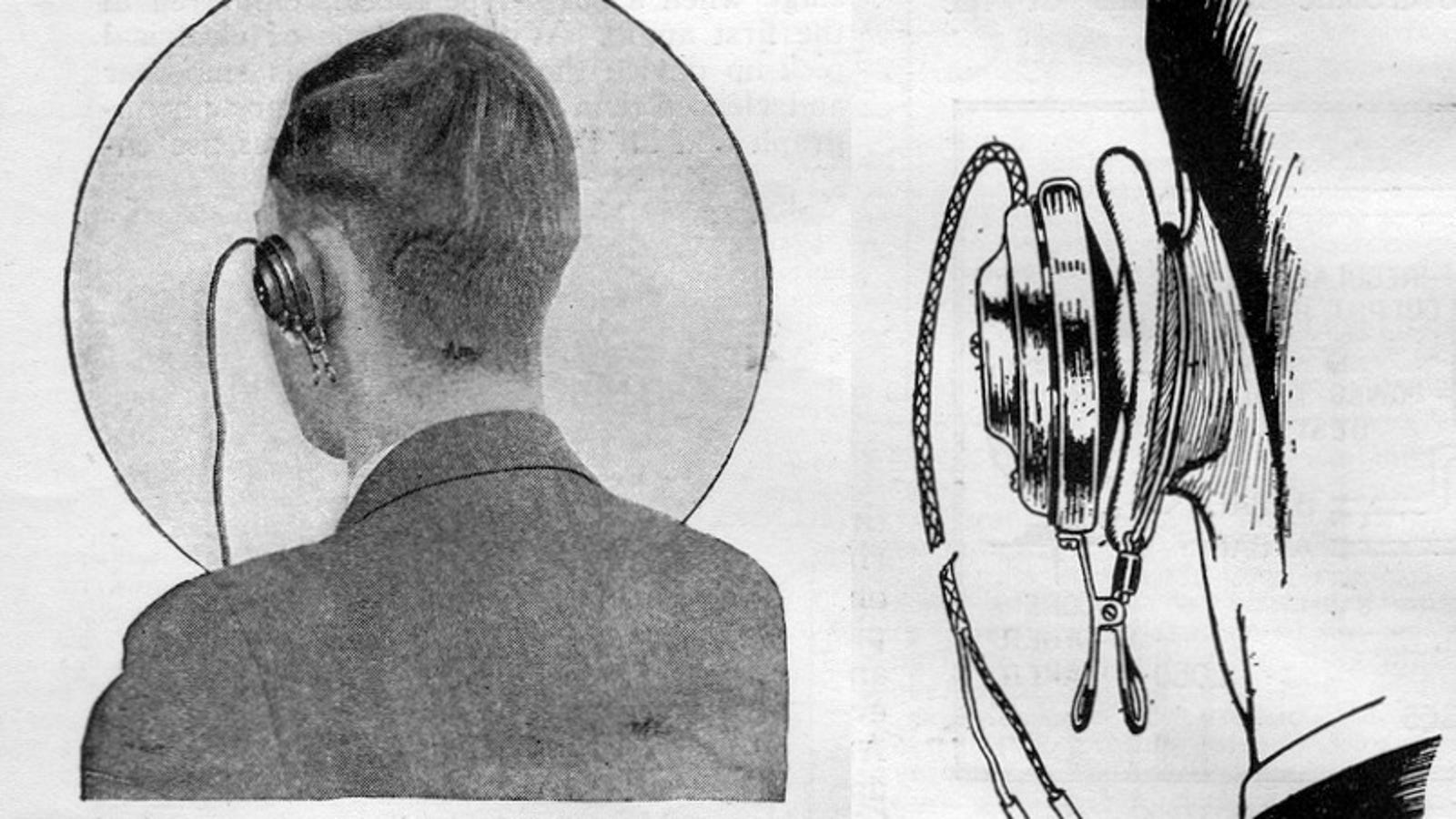 earbuds volume slider - These Headphones From 1927 Look So Much Worse Than Earbuds