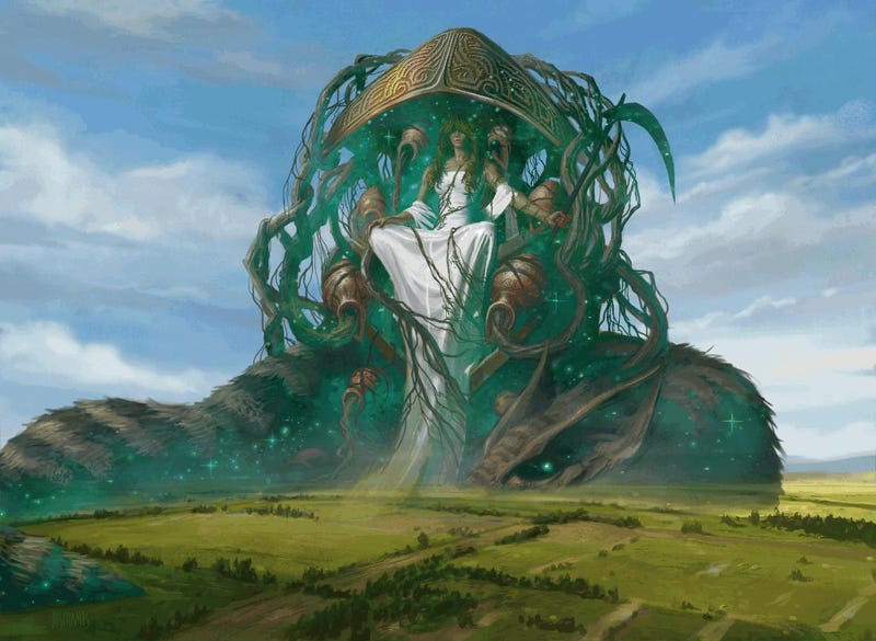 Illustration for article titled Legends walk among us in this Magic the Gathering: Born of the Gods art