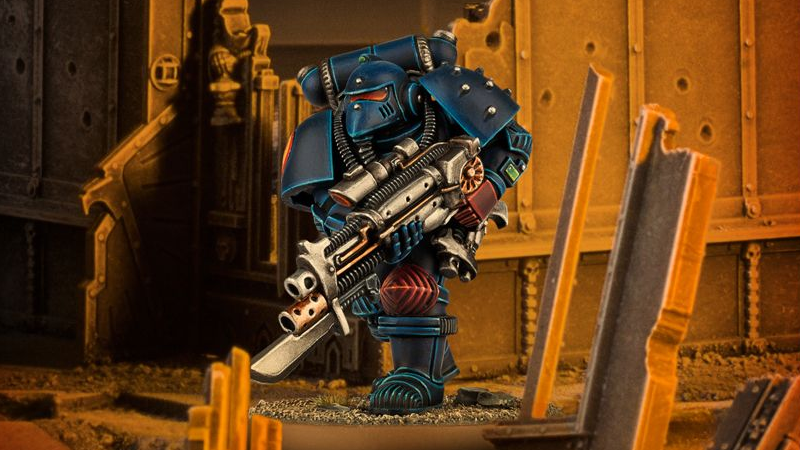 Illustration for article titled Games Workshop Is Bringing Back the Classic Space Marine For One Weekend Only