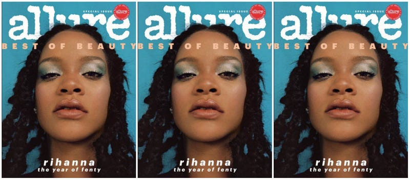 Illustration for article titled Respect the Fenty Effect: Rihanna Covers Allure's 'Best of Beauty' Issue as Fenty Beauty Turns 1