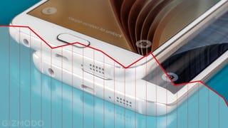 Illustration for article titled Por qué el Samsung Galaxy S6 es un (inesperado) desastre en ventas