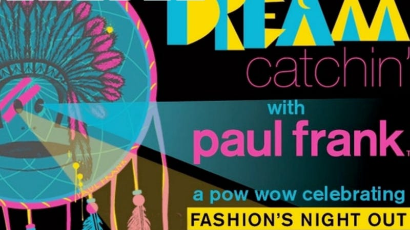 """Illustration for article titled Paul Frank Actually Doing a Good Job Apologizing For That Racist """"Dream Catchin'"""" Theme Party"""