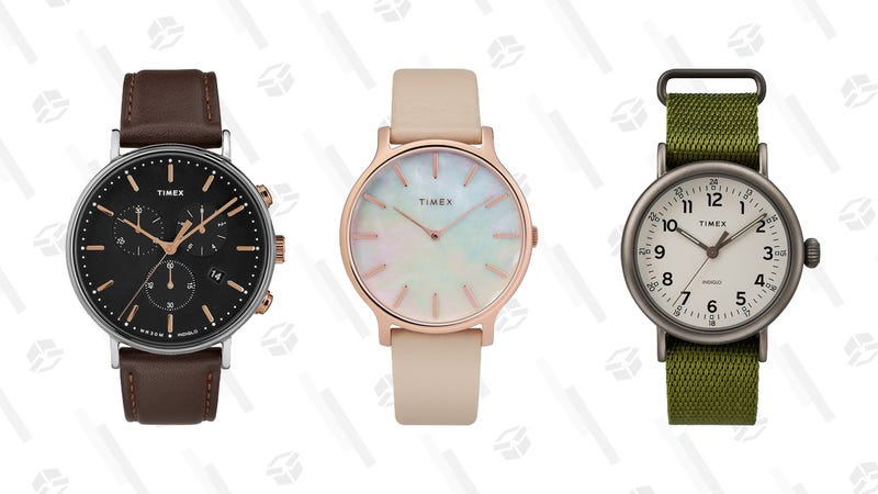 15% off orders $49+, 25% off $99+   TIMEX