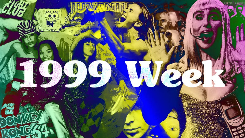 Illustration for article titled Catch up on 1999 Week and the rest of our favorite recent stories