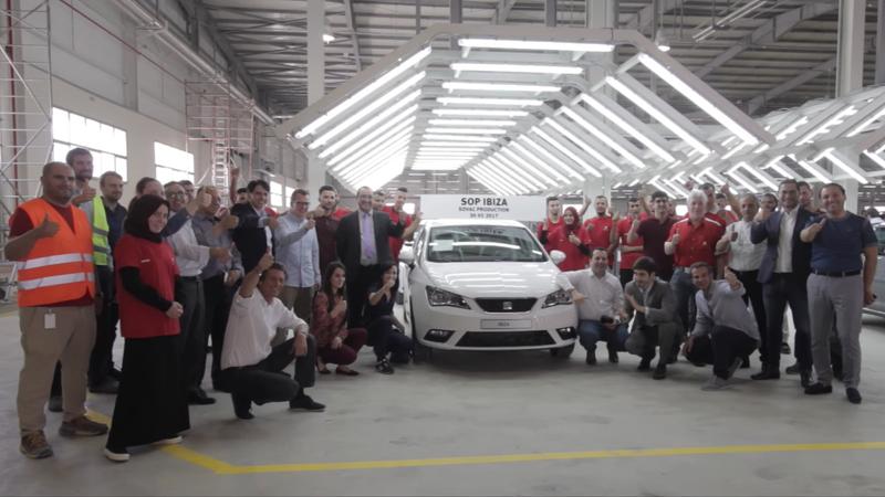 A look inside VW's Relizane plant in Algeria.
