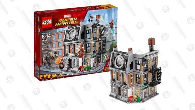 Master the Mystic Arts In Doctor Strange s LEGO Sanctum Santorum For $70