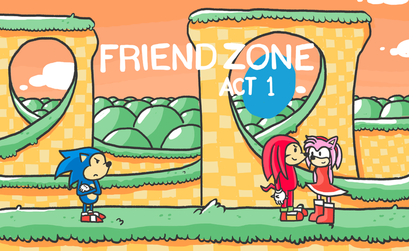 Illustration for article titled I Found The Mythical Friend Zone. It's A Sonic Level.