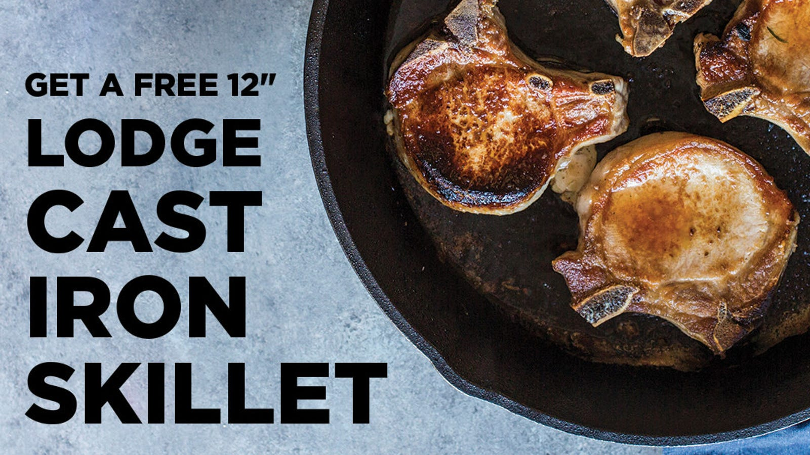 Sign Up For Butcher Box, Get $50 to Spend On Lodge's Essential Cookware
