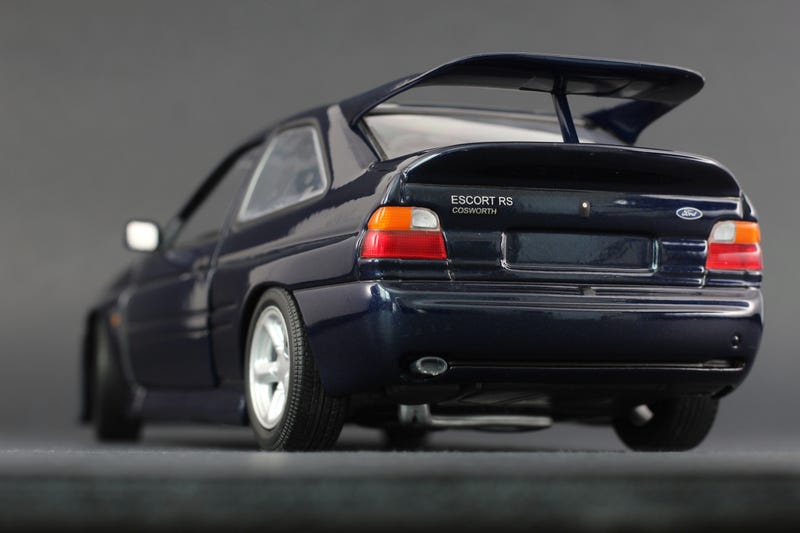 Illustration for article titled Ford Escort Cosworth from UT Models in 1:18 Scale