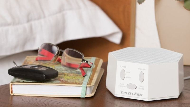 Lectrofan White Noise Machine | $35 | Amazon | After 30% off coupon
