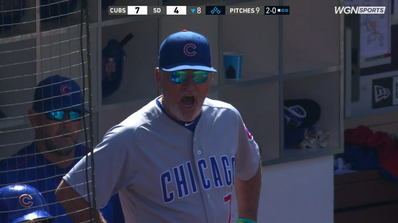 Illustration for article titled Joe Maddon Shamelessly Reams Out Umpire Without Getting Tossed