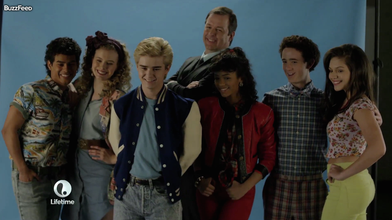 Illustration for article titled The Trailer for Lifetime's Saved by the Bell Movie Is Ridiculous