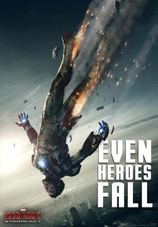 Illustration for article titled Iron Man 3 Posters
