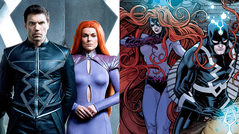 Image Credit: Michael Muller/Marvel for Entertainment Weekly. Inhumans: Once and Future Kings cover art by Nick Bradshaw.