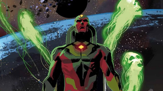 Illustration for article titled This Might Be Our First Actual Look At Age Of Ultron's Vision