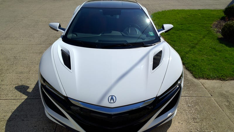 Illustration for article titled Take a Look at this Pre-Production Acura NSX