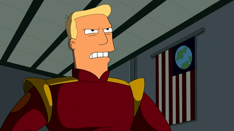 Illustration for article titled Zapp Brannigan's Voice Actor Reading Stupid Donald Trump Quotes [Updated]