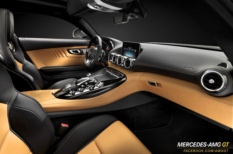 Illustration for article titled Mercedes-AMG GT Tan Leather?