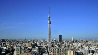 Illustration for article titled Japan Tops off the Tokyo Sky Tree—World's Tallest Comm Tower