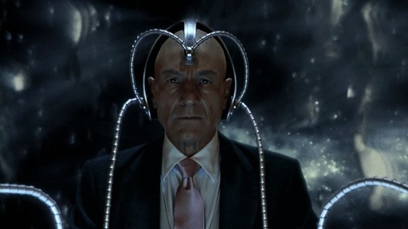 Patrick Stewart as Professor X in X2 (2003)