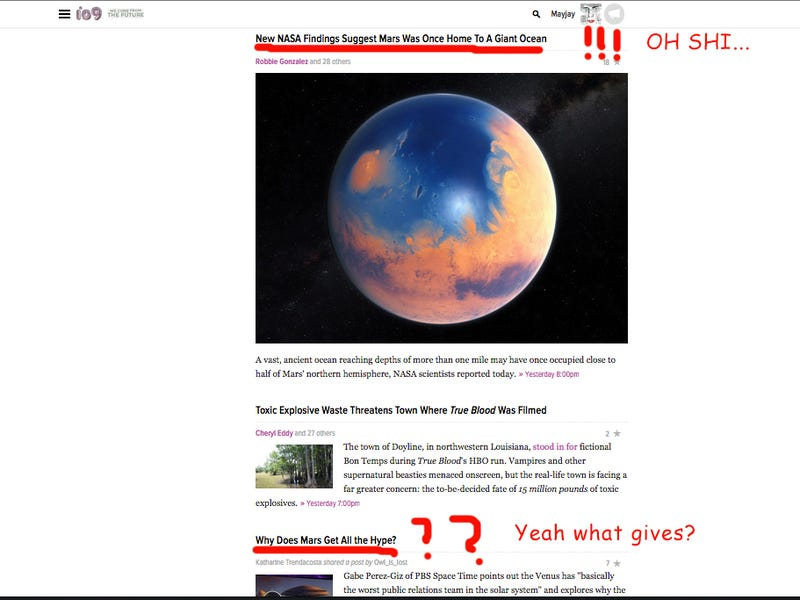Illustration for article titled What's so Great about Mars Anyway? Oh...